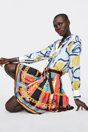 d4f7c3c2bc7 Faldas Plisadas de mujer Zara plisada ¡Compara 149 productos y compra ahora  al mejor precio!