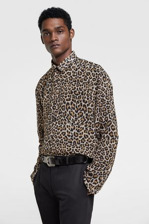 Zara CAMISA ESTAMPADO ANIMAL