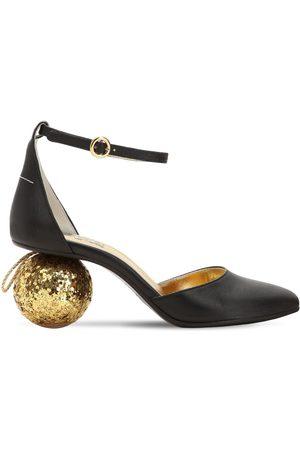 MM6 MAISON MARGIELA Zapatos Pumps De Piel Con Tacón De Esfera 60mm