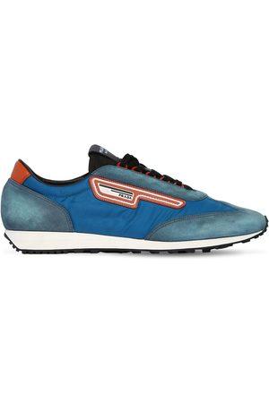 """Prada   Hombre Sneakers """"milano 70"""" De Nylon Y Ante 5"""