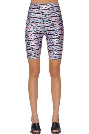 AALTO | Mujer Shorts De Jersey Stretch Estampado 34