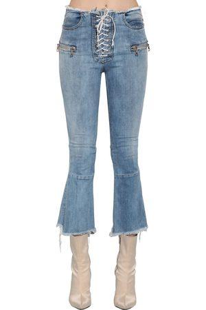 UNRAVEL   Mujer Jeans De Denim Acampanados Con Cordones 26