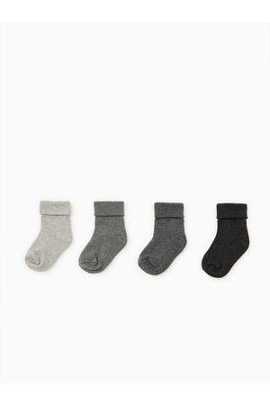 Zara Pack cuatro calcetines básicos