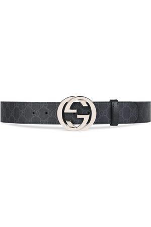 Gucci Hombre Cinturones - Cinturón GG Supreme con Hebilla de G