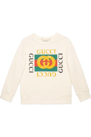 Gucci Sudadera Infantil con Logo Print