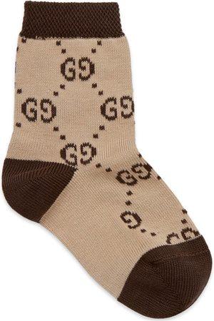 Gucci Bebé Calcetines - Calcetín de Bebé con GG