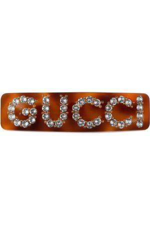 Gucci Pasador para el Pelo de Cristal
