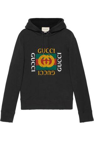 Gucci Sudadera extragrande con logotipo
