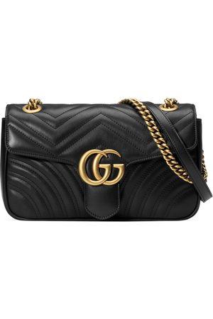 Gucci Bolso de Hombro GG Marmont Pequeño de Matelassé