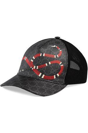 Gucci Gorra de Béisbol GG Supreme con Estampado Kingsnake