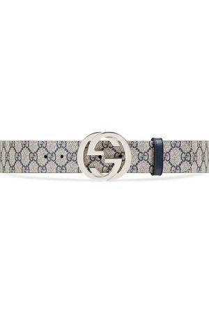 Gucci Cinturón GG Supreme con hebilla de G