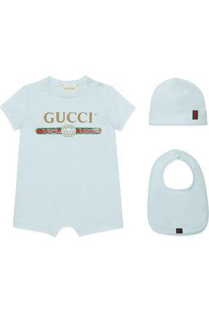 Gucci Conjunto Regalo Bebé Algodón Logo