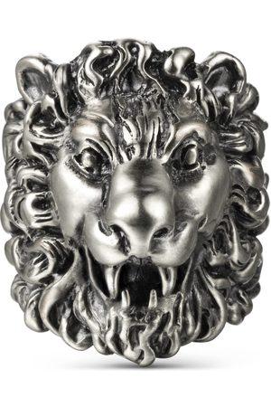 Gucci Anillo con cabeza de león