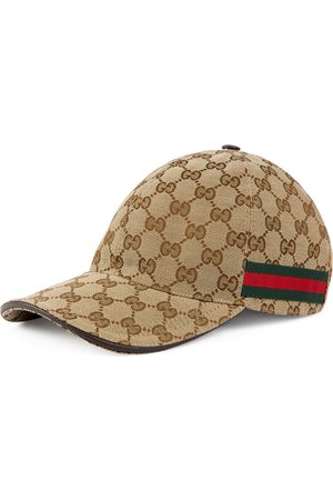 Gucci Gorra de béisbol con detalle de tribanda