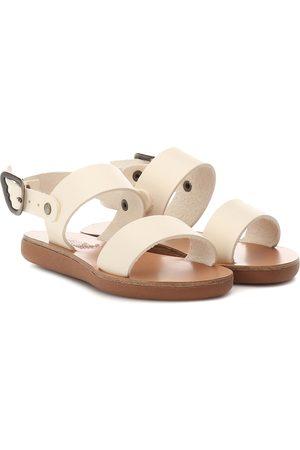 Ancient Greek Sandals Kids Sandalias Little Clio Soft de piel