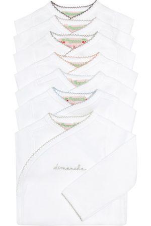 BONPOINT Conjunto de bodies de algodón