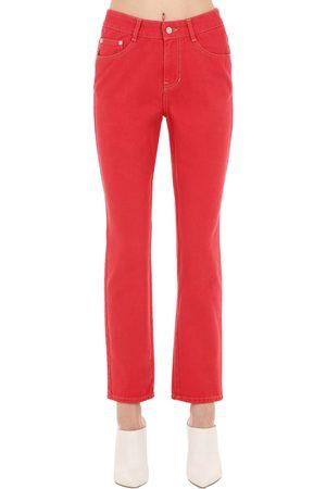SJYP   Mujer Jeans De Denim De Algodón Xs