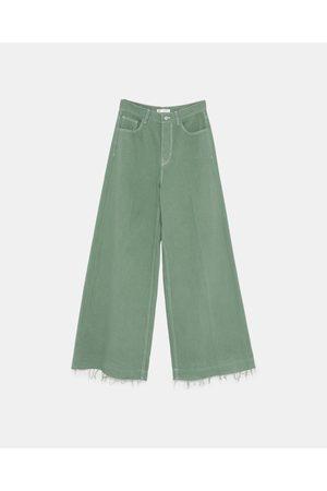 00986323a6 Baratas  Pantalones Anchos de mujer color verde en Rebajas  ¡Compara 43 productos  y compra!