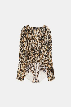 Zara BODY ESTAMPADO ANIMAL