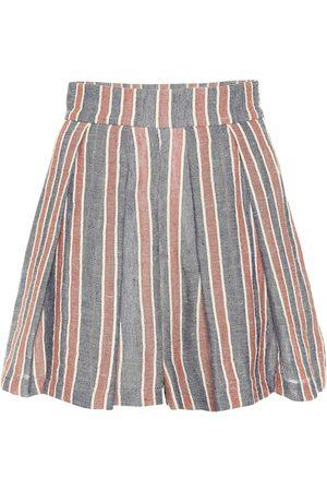 Three Graces London Shorts de lino y algodón