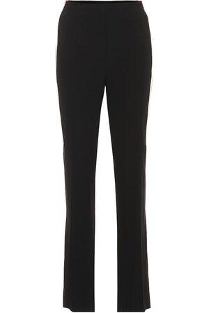 Givenchy Pantalones de crepé rectos