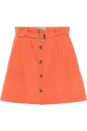 Lisa Marie Fernandez Minifalda de lino