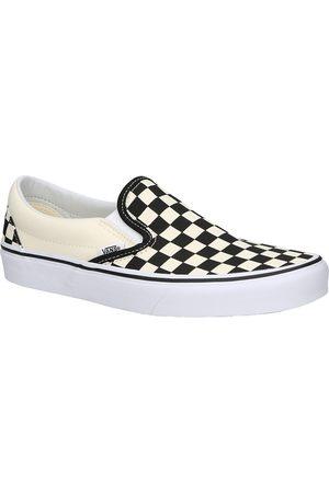 Vans Checkerboard Classic Slip-Ons negro