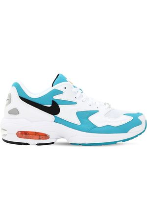 "Nike | Mujer Sneakers ""air Max2 Light"" /azul 7.5"