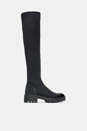 d2d8ac10cc0 Botas Altas de mujer Zara online. ¡Compara 18 productos y compra!