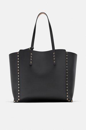 Zara Shopper reversible tachas