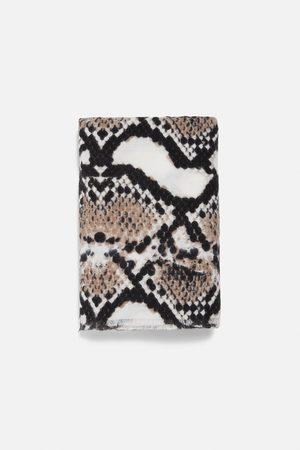 Zara Mujer Bufandas y Pañuelos - Pañuelo estampado animal