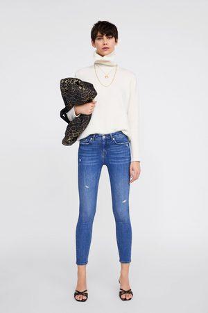 Zara Jeans zw premium skinny azure blue