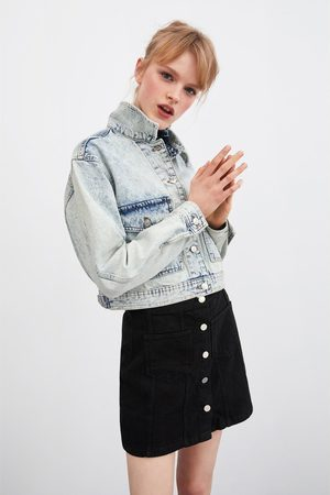 Zara Falda mini botones