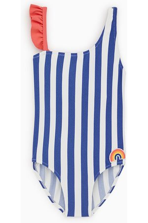 niño precio justo diseño moderno Bañador rayas arcoiris