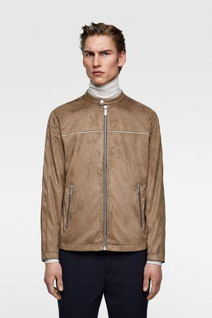 Chaquetas De Cuero de hombre Zara moda ¡Compara 62 productos y ... 01252d9cdfd