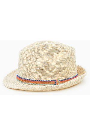 Zara Sombrero ala tramado cinta
