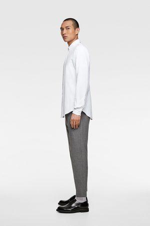 Zara Camisa estructura piqué