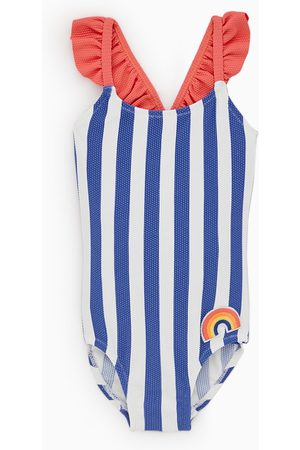 Zara Bañador rayas arcoiris