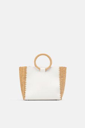 Zara Bolso shopper natural