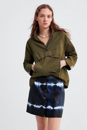 Zara Falda mini tie dye