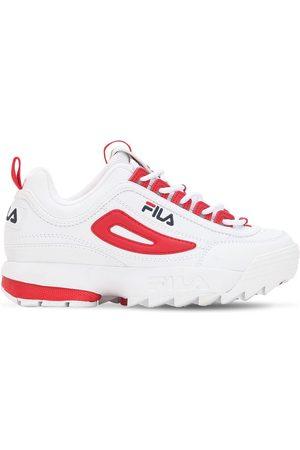 "Fila | Mujer Sneakers ""disruptor Cb"" De Piel Sintética /rojo 9"