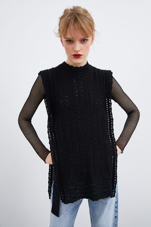 Zara Chaleco crochet