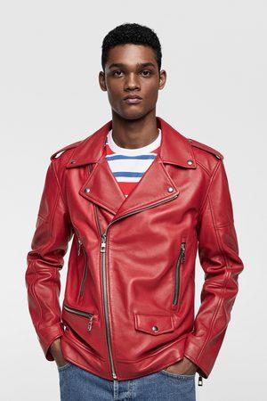 Chaquetas De Cuero de hombre Zara chaqueta ¡Compara 62 productos y ... b30cbd946e5