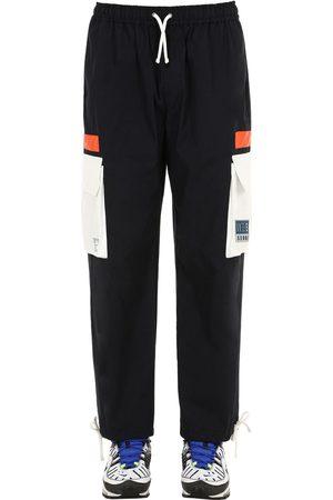Iise   Hombre Pantalones Cargo Con Cordones /blanco M