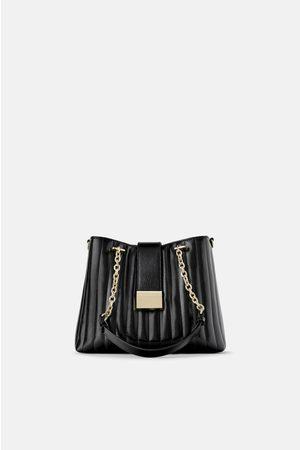 Zara Bolso shopper acolchado