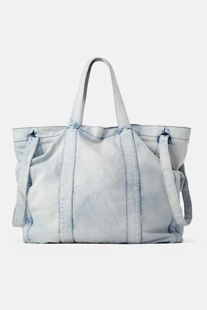Zara Bolso shopper xxl denim