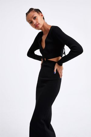 6c4fd61468e Vestidos De Punto de mujer Zara tiendas online barata ¡Compara 155 ...
