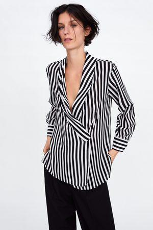 Camisas de mujer Zara rayas ¡Compara 25 productos y compra ahora al ... e8bab6846828