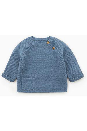 Zara Jersey links botones