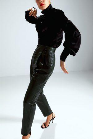Zara Pantalón piel edición limitada